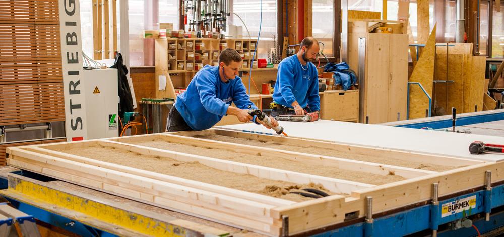 Holzbau Im Überblick. Navigation überspringen · Außenwand · Innenwand ...